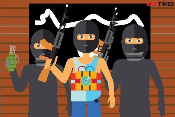 Sempat Diintai Sepekan, Densus 88 Tangkap 5 Terduga Teroris di Blitar