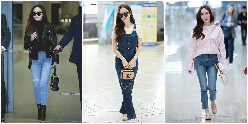 10 Gaya Inspirasi Jeans ala Designer Asal Korea, Jessica Jung