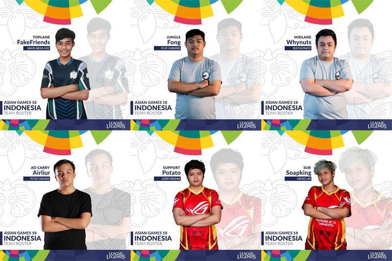 5 Tim E- Sports Yang Dipertandingkan Di Asian Games Kemaren