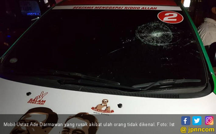Mobil Ustadz Pembongkar Umrah Fiktif Cagub SUMUT Dari Gerindra dan PKS Edy Dirusak, Begini Kronologinya!!