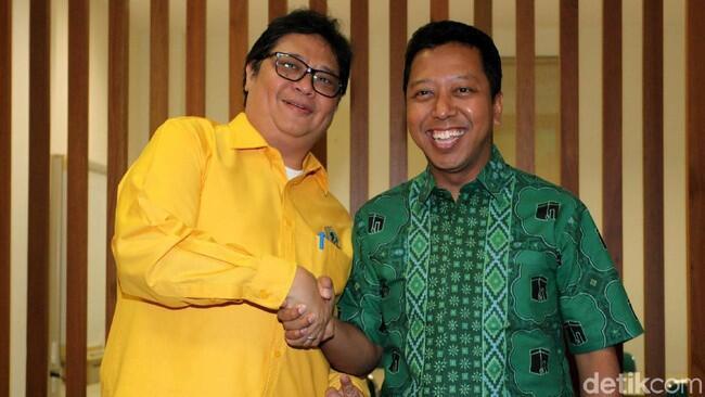 Airlangga-Rommy Bertemu, Bicara Hasil Pilkada untuk Modal Jokowi