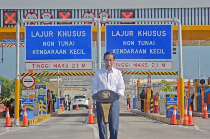 Sembilan ruas tol Trans Jawa akan diresmikan hingga akhir 2018