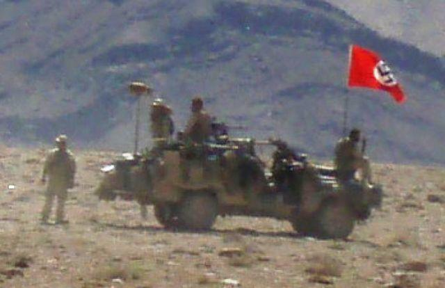 Angkatan Darat Australia Kibarkan Bendera Nazi di Afghanistan