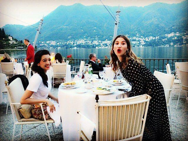 Jadi Bridesmaid, 10 Potret Raline Shah Liburan di Italia