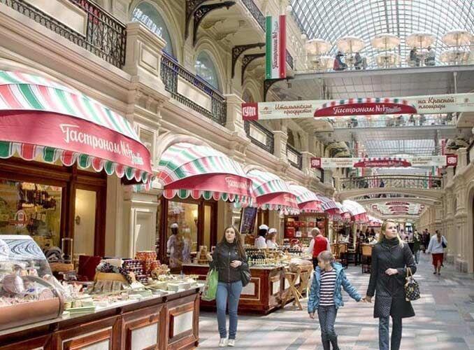 Mall Rasa Istana, Ini 5 Fakta Menarik GUM Shopping Centre Moscow