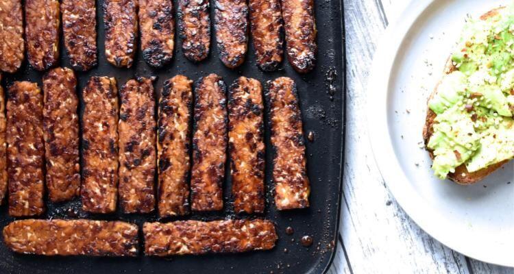 Bacon Tempe yang Gak Kalah Enak Dari Bacon Daging, Cuma Butuh 5 Bahan!