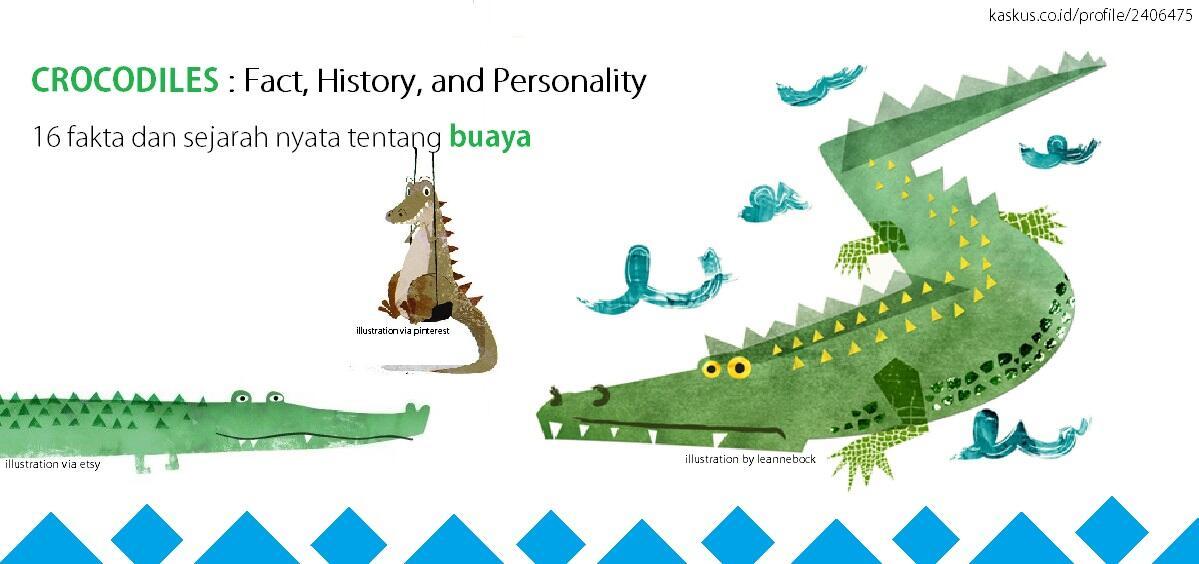 Lihat ! 16 Fakta dan Sejarah mengenai BUAYA , 8, 9 & 10 Menakjubkan gan !