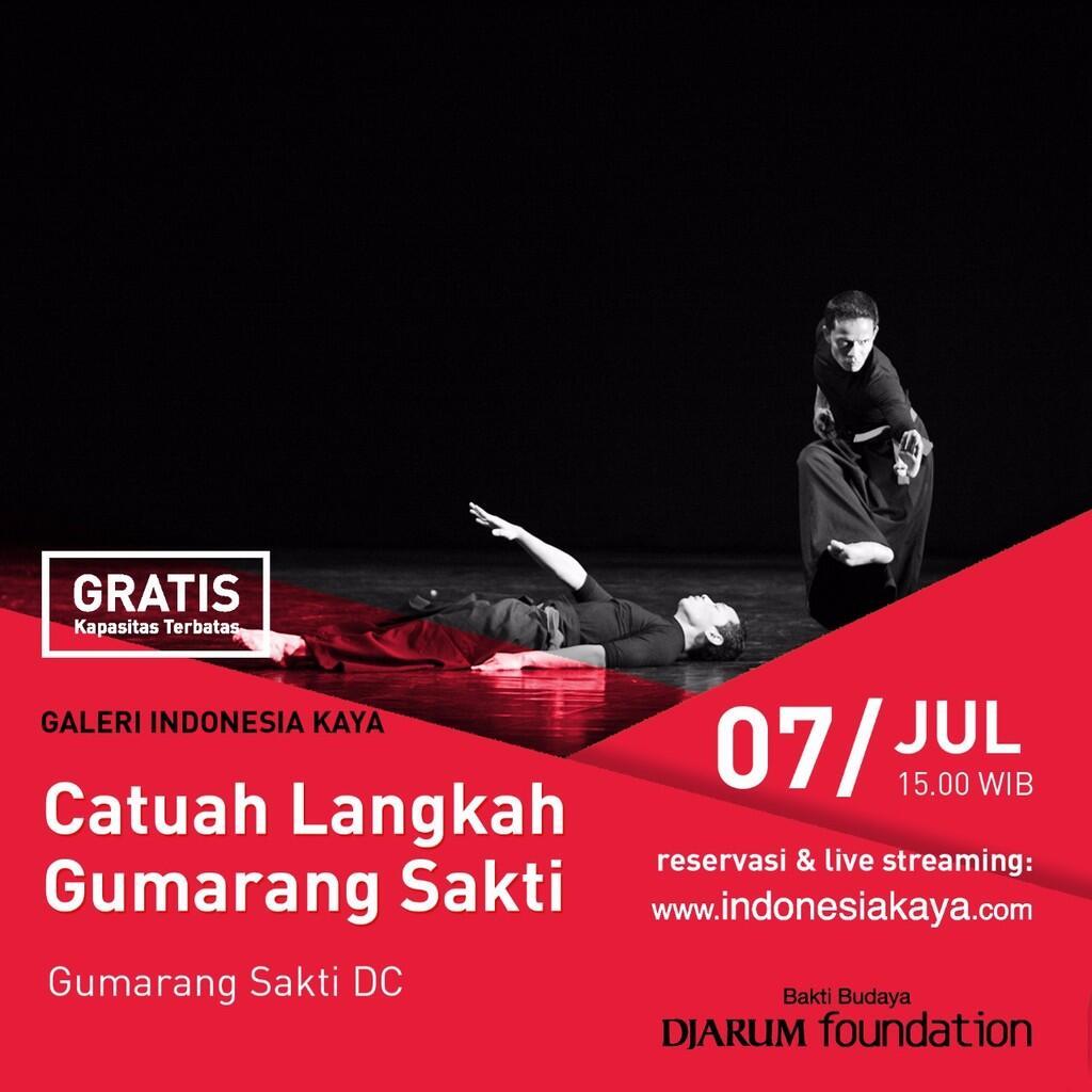 Gelar Karya Gumarang Sakti Minangkabau Dance Co. di Galery Indonesia Kaya