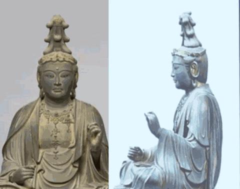 Ilmuwan melakukan ST Scan pada patung buddha berusia 700 tahun,hasilnya WOW!!!