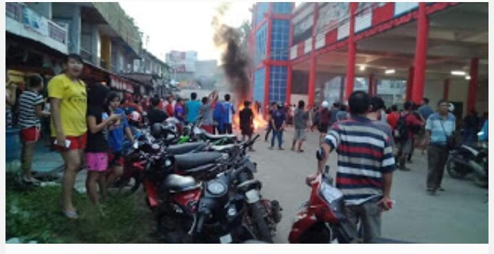 Usai Pilgub Kalbar, Terjadi Pembakaran Kios Milik Suku Jawa di Kabupaten Landak