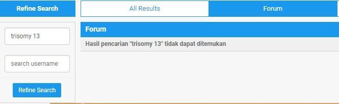 mengenal trisomy 13