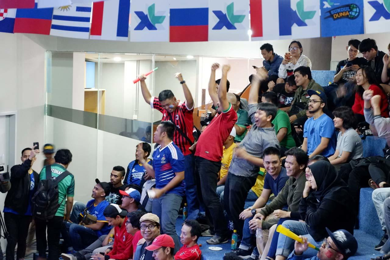 Keseruan Pesta Bola di KASKUS HQ - Day 1 [Prancis vs Argentina]