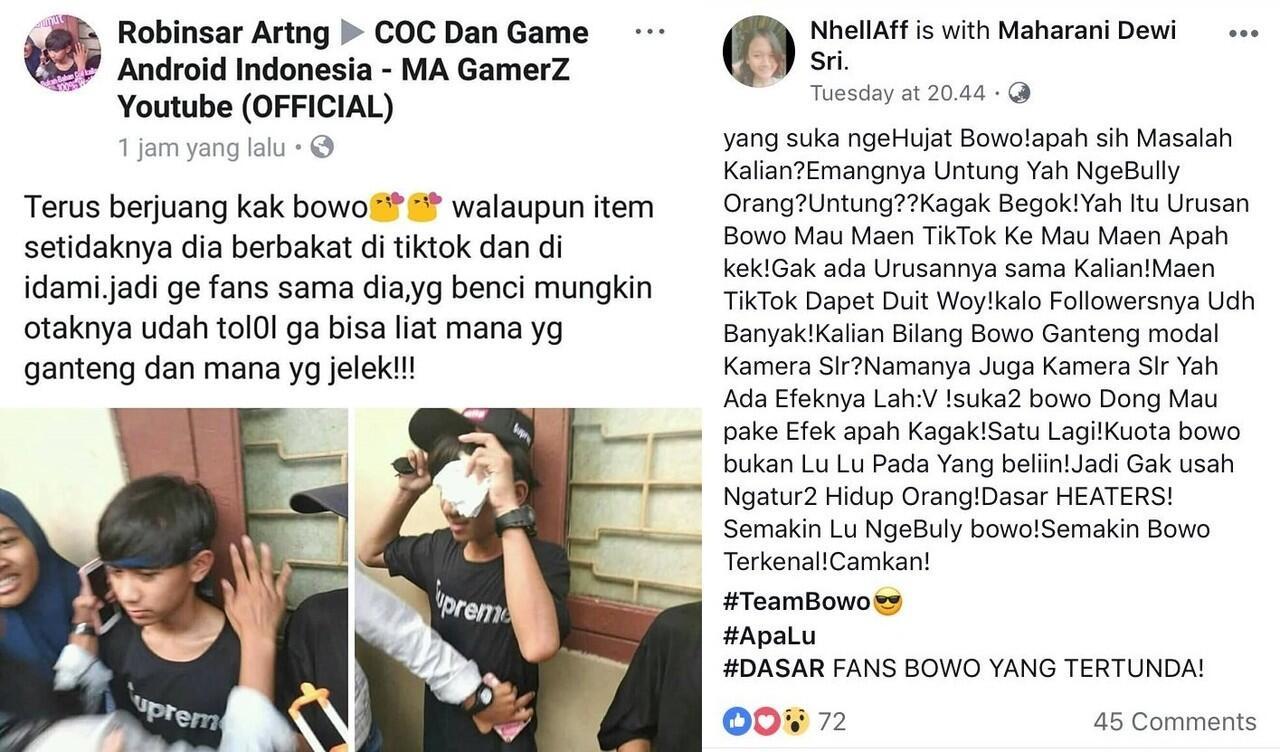 Bowo, Artis Tik Tok Viral Adakan Meet & Greet dgn Fans, biaya sebesar 80rb. Tetew