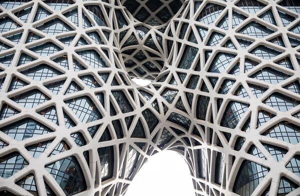 Foto: Kasino Keren di Makau Karya Arsitek Ternama Zaha Hadid