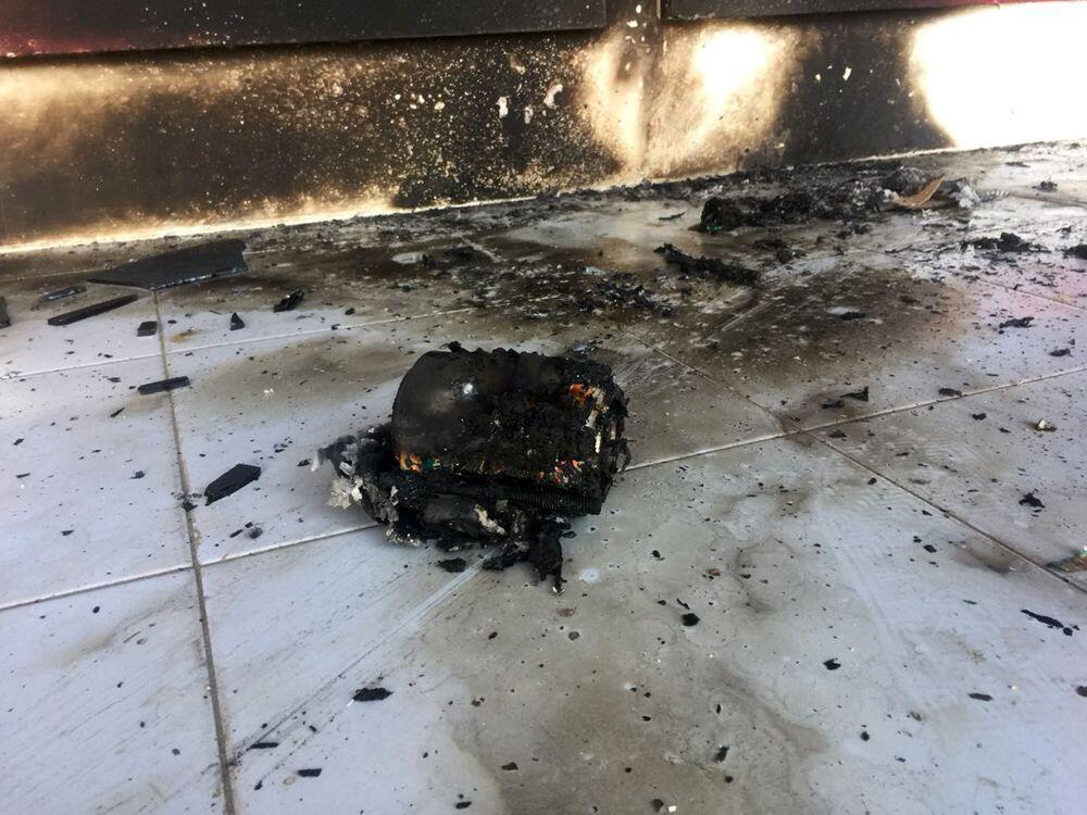 Kantor Tabloid Modus Aceh Dilempari Bom