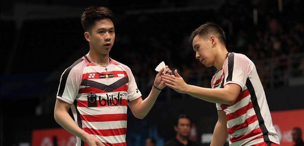 4 Fakta Menarik Tersingkirnya Marcus/Kevin dari Malaysia Open 2018