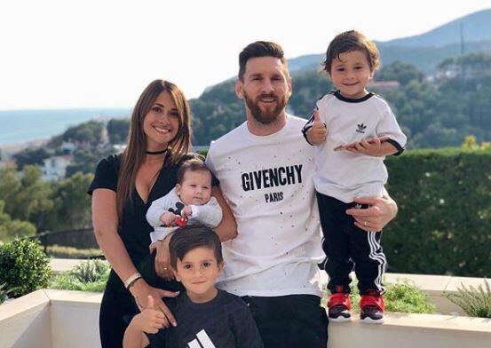 Bikin Baper, Begini Ucapan Ulang Tahun Istri Messi pada Sang Suami
