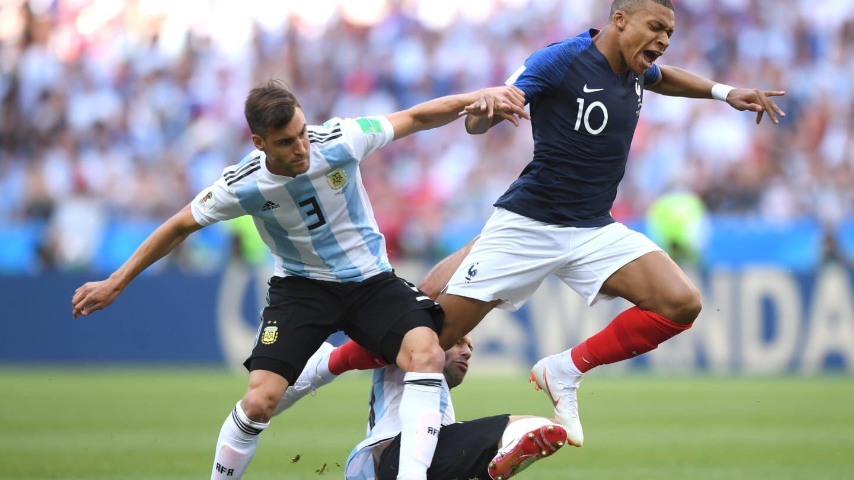 Babak Pertama: Prancis Tahan Imbang Argentina dengan Skor 1-1