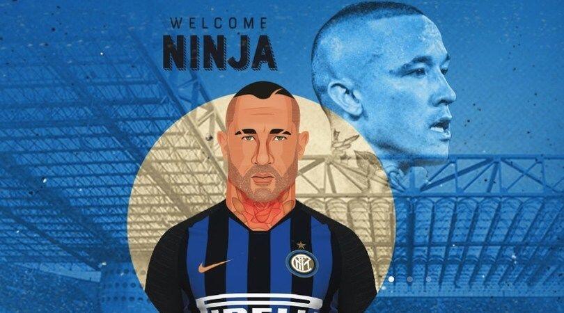 Kenakan Nomor 14, Radja Nainggolan Resmi Gabung Inter Milan