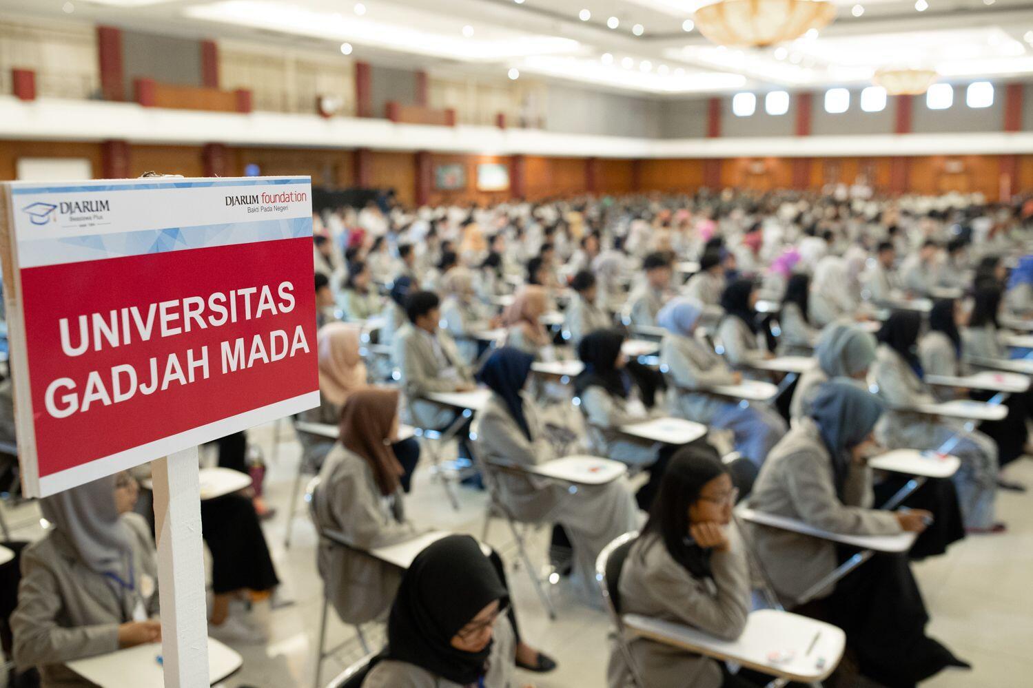 700 Mahasiswa dari 7 PT Ternama Yogyakarta Ikuti Tes Beasiswa Djarum
