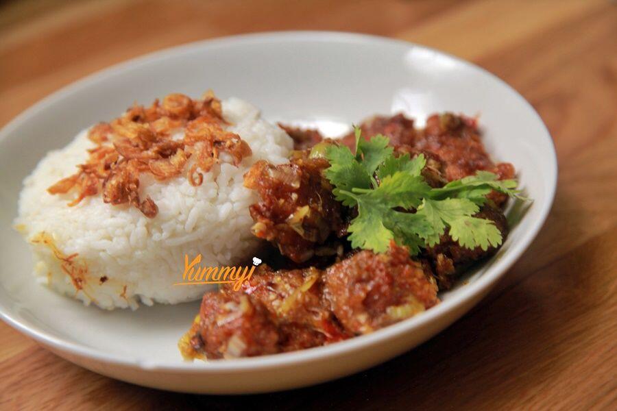 VIDEO: Resep Mudah Ayam Pop Saus Padang, Enaknya Bikin Nagih