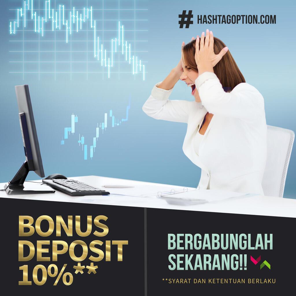 TRADING ONLINE TERPERCAYA | BONUS 10%