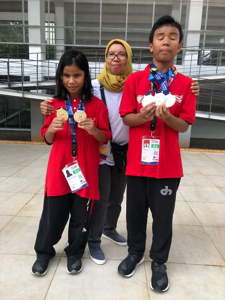 Atlet Disabilitas Panti Raih Medali di Test Event Paragames 2018