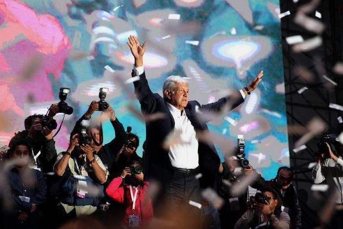 Masa depan Meksiko di tangan populis sayap kiri