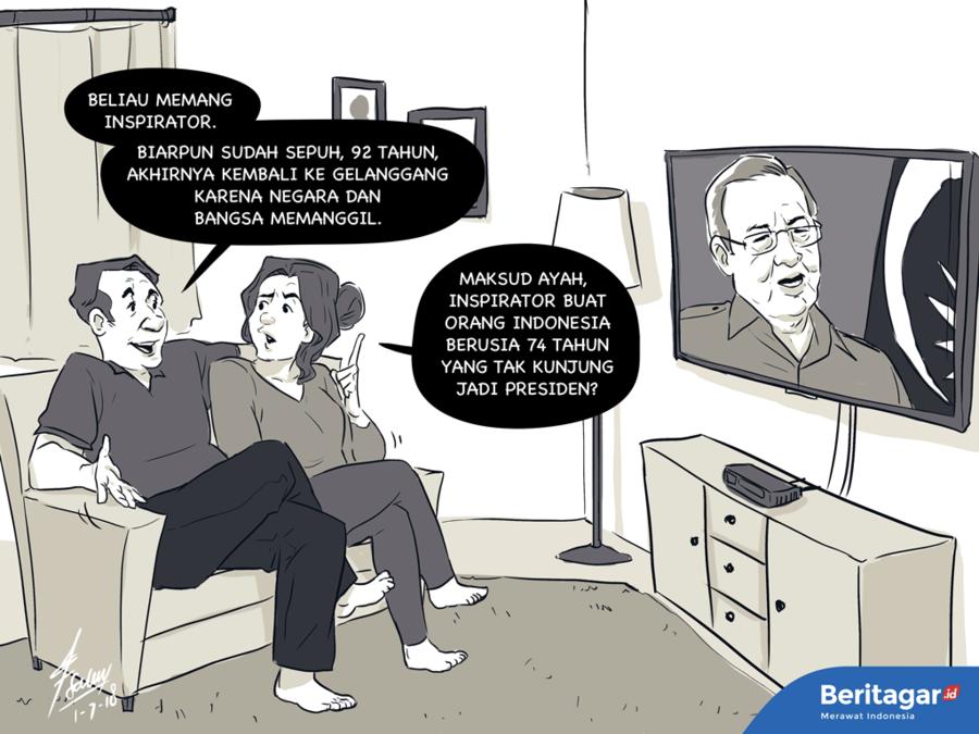 Mahathir memancarkan harapan