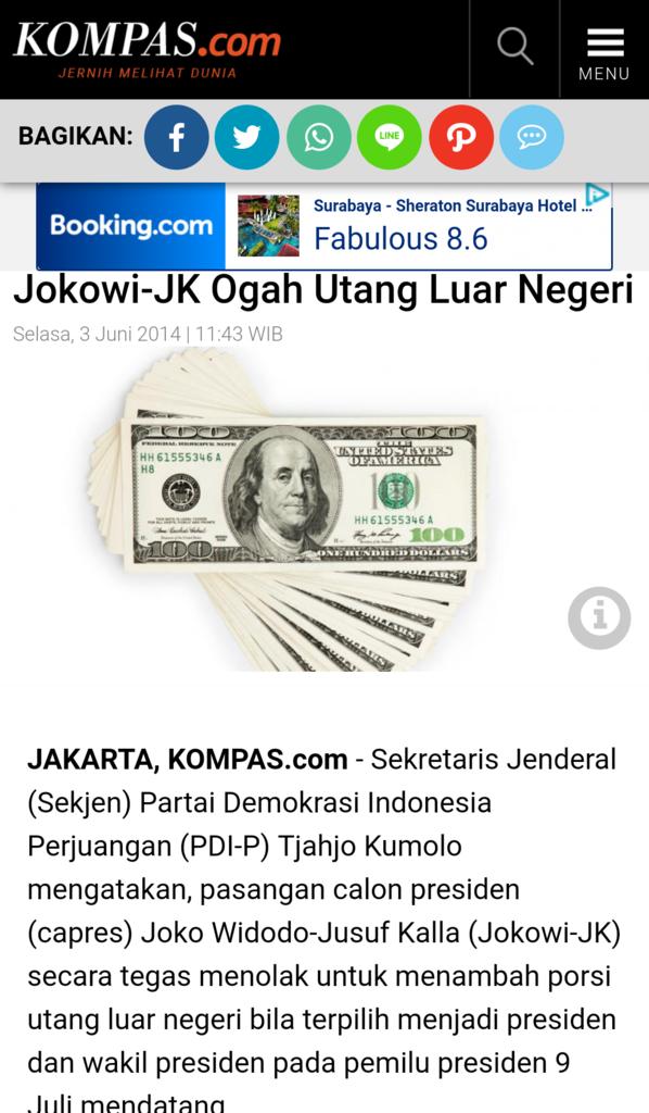 Indonesia Ngutang Lagi, Anak Buah Prabowo Protes