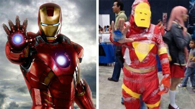 5 Kostum Cosplay Yang Jauh Beda Dengan Aslinya, Bisa Bikin Ketawa Pula Lihatnya