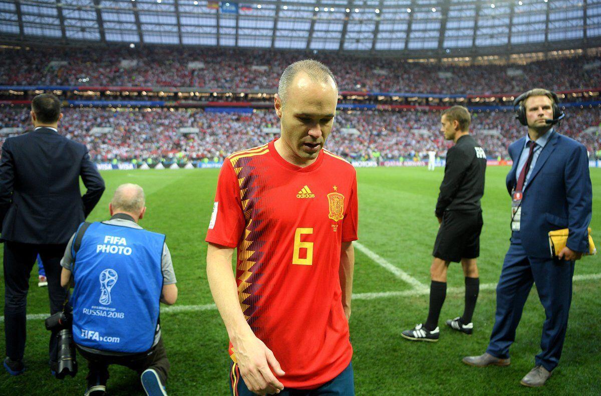 Tersingkir di Piala Dunia, Andres Iniesta Mundur dari Timnas Spanyol