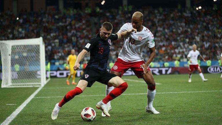 Skor Masih Imbang 1-1, Kroasia vs Denmark Berlanjut ke Extra Time