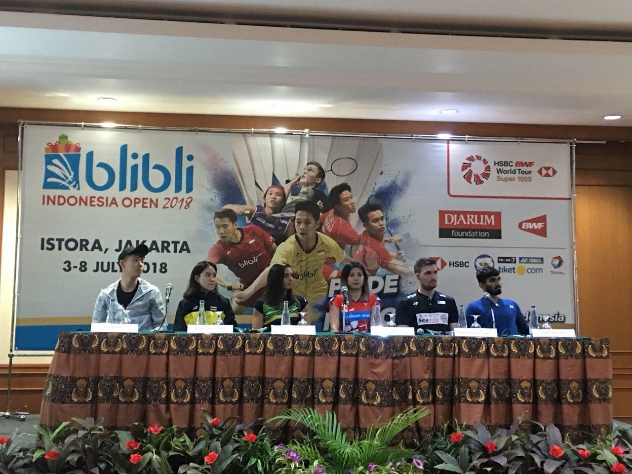 Indonesia Open 2018, Hadiahnya Tembus Rp 17 Miliar!