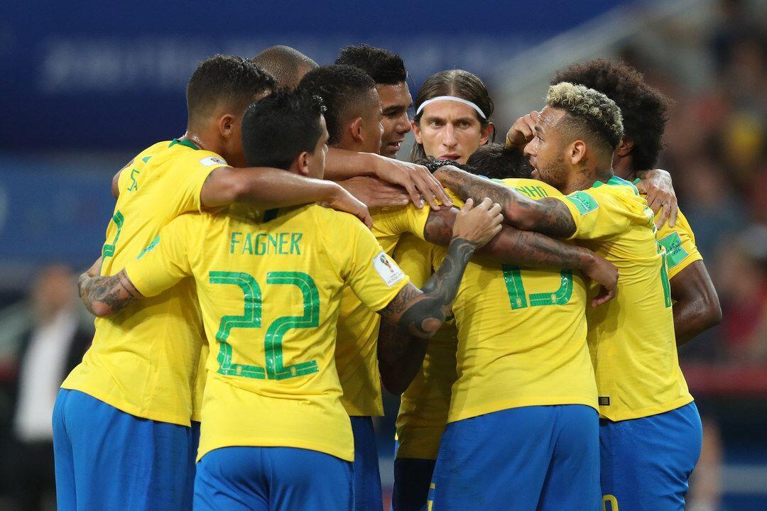 Babak Pertama: Brasil vs Meksiko 0-0