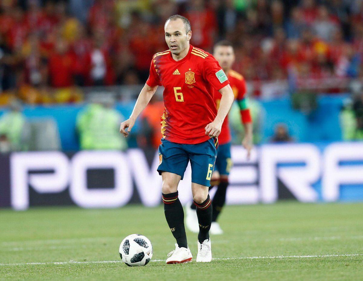Gantung Sepatu dari Timnas Spanyol, Inilah 5 Gol Indah Iniesta