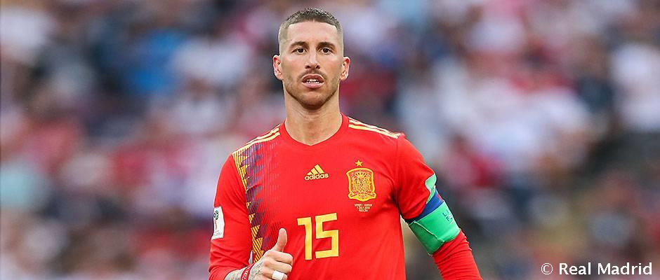 Ramos dan Casillas pemain Spanyol dengan jumlah pertandingan terbanyak di Piala Dunia