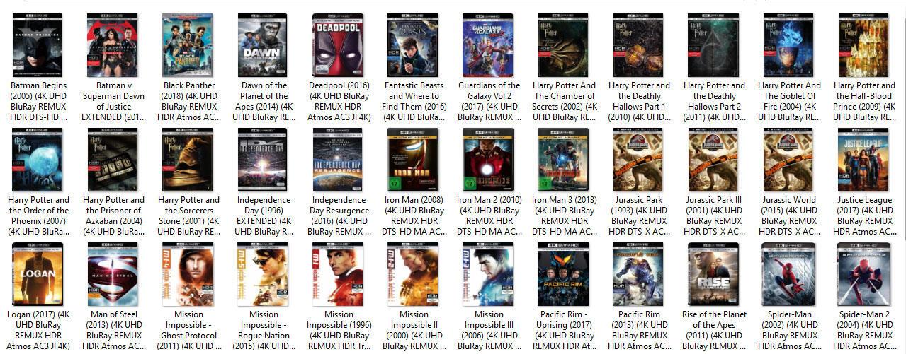 FILM 2160p - REAL 4K UHD - HDR - REMUX - DUAL AUDIO & SUB