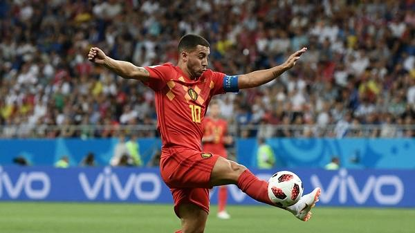 Top Player of the Match Belgia vs Jepang: Eden Hazard