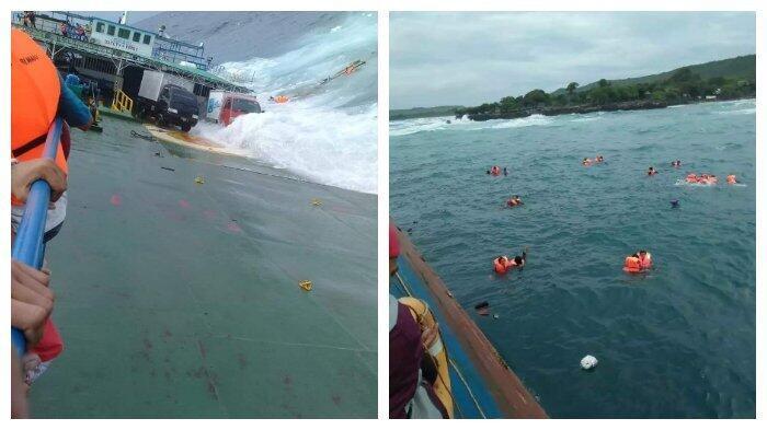 BREAKING NEWS: Lagi, Kapal Tenggelam di Perairan Sulawesi,