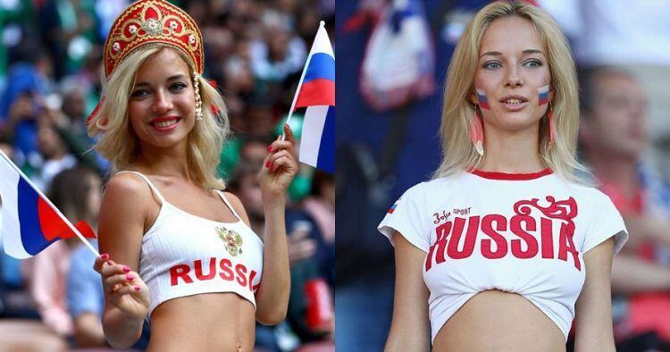 [Viral] Suporter Timnas Rusia yang Super Seksi Ini Ternyata Bintang Porno!