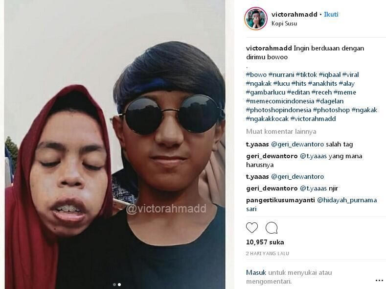 Kejahilan Master Photoshop Buat Artis Tiktok Babang Bowo Alpenlible
