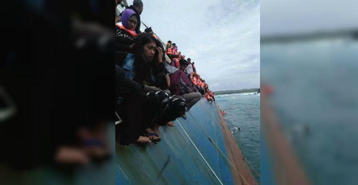 KapalLestari Maju Tenggelam di Kepulauan Selayar, Ini Penyebabnya