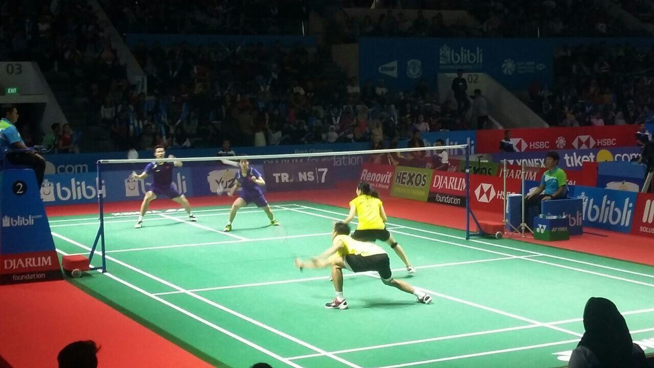 Indonesia Open 2018: Ricky-Debby Bawa Indonesia Masuk Round 2