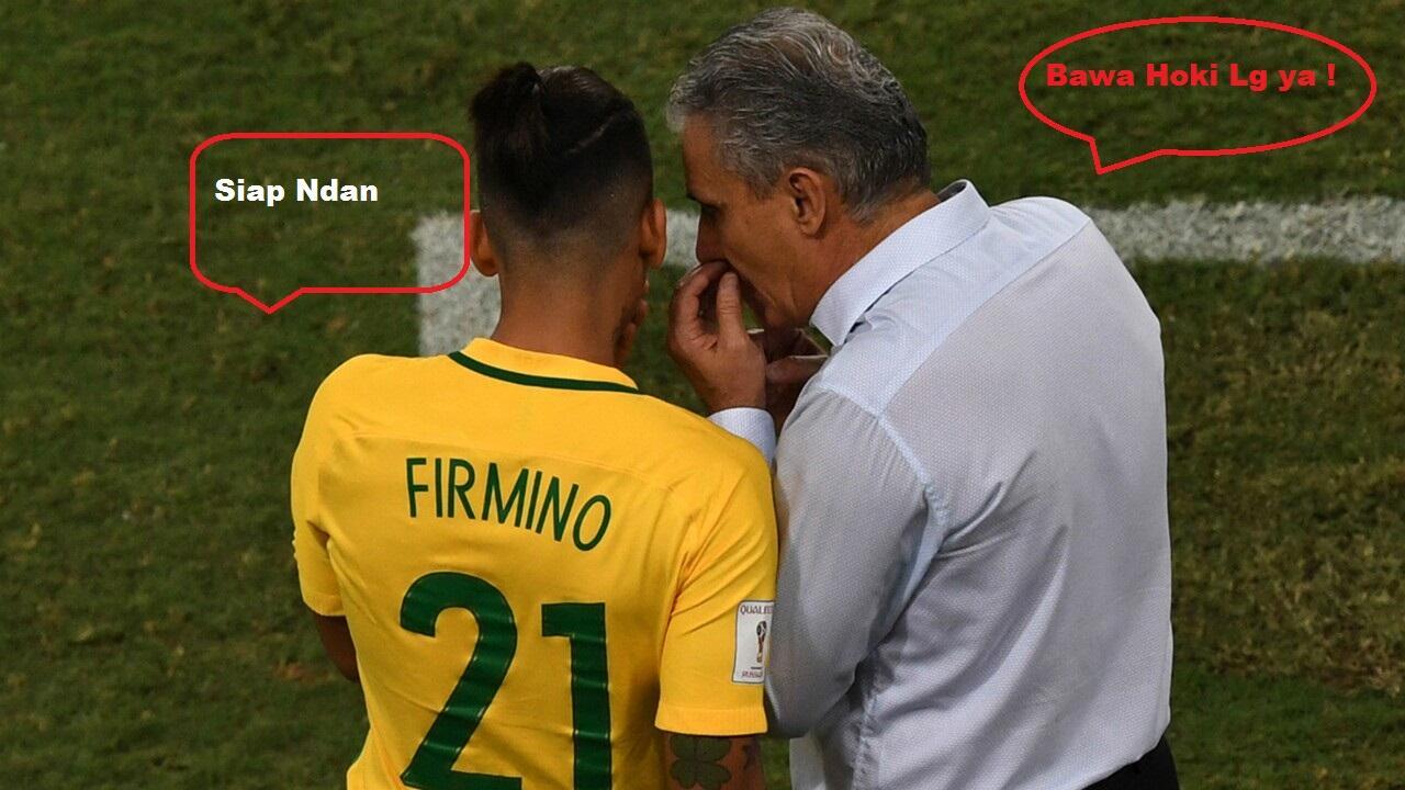 Firmino, Pemain Dengan Hoki Gol Untuk Brazil