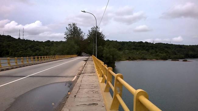 Cerita Jembatan Sei Ladi yang Terkenal Paling Angker