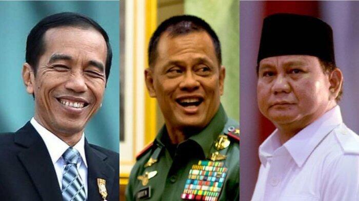 Pilih salah satu 3 kandidat kuat, Calon Presiden dan Wakil Presiden Indonesia 2019
