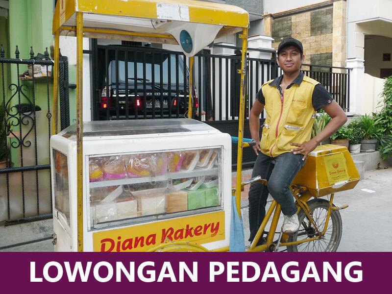 Lowongan Kerja Pedagang Roti Keliling Wilayah Bekasi (Diana Bakery)
