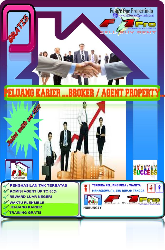 Lowongan Freelance Online Marketing Agen Properti di Bekasi
