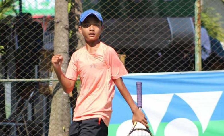 Sultan Kafi Delon Kampiun KU 14 Tahun Kejurnas Tenis Junior Detec Open 2018